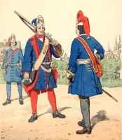 uniform französische soldaten 18 jahrhundert