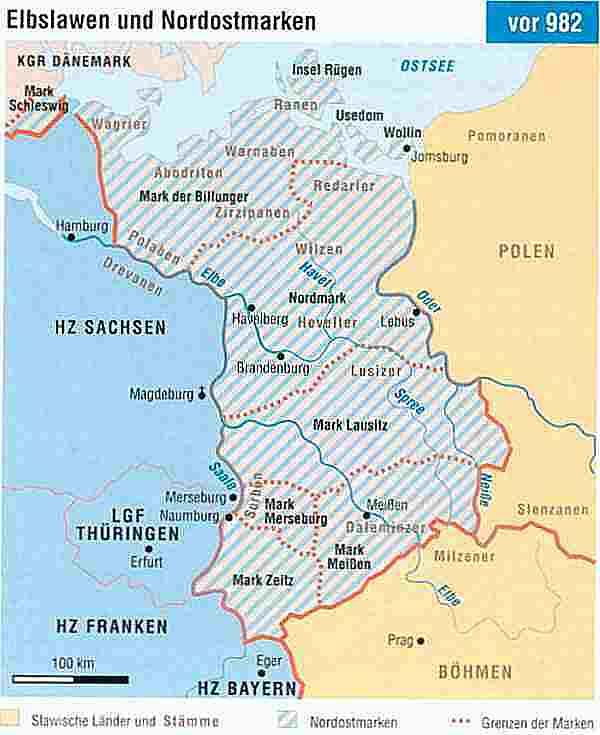 Germanische Stämme Karte.Polen