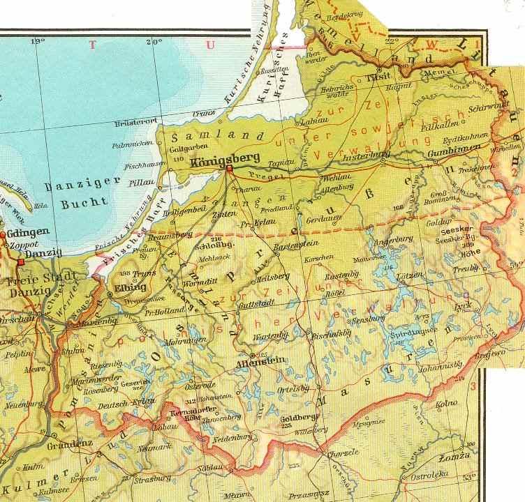 Karte Ostpreußen.Ostpreußen Heute Karte Filmgroephetaccent